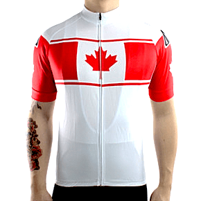"Parc Cycling Jerseys Mens ""Team Canada"" Jersey"