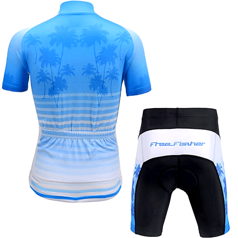 "Parc Jersey Kids ""Cool Blue"" Cycling Set"