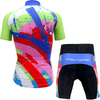 "Parc Jersey Kids ""Let's Move"" Cycling Set"