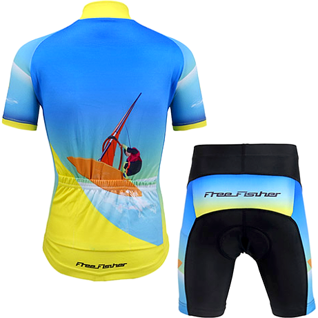 "Parc Jersey Kids ""Sail"" Cycling Set"
