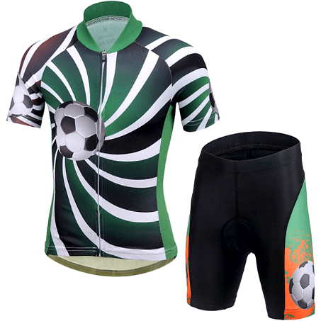 "Parc Jersey M Kids ""Brasil Soccer"" Cycling Set"