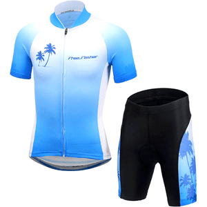 "Parc Jersey M Kids ""Cool Blue"" Cycling Set"
