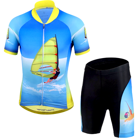 "Parc Jersey M Kids ""Sail"" Cycling Set"