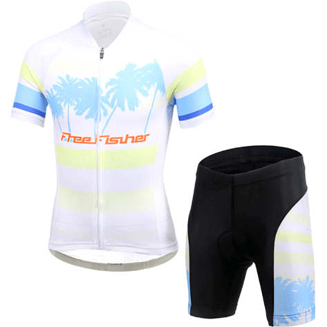 "Parc Jersey M Kids "" The Beach"" Cycling Set"