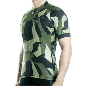 "Parc Jersey Mens ""Camouflage (Green)"" Jersey"