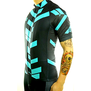 "Parc Jersey Mens ""Team (black/teal)"" Jersey"