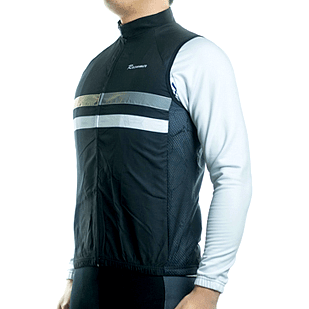 "Parc Jersey Mens ""Windstopper"" (Black) Sleeveless Jersey"
