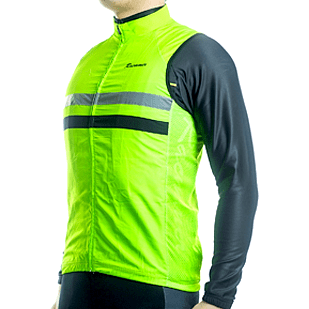"Parc Jersey Mens ""Windstopper"" (Green) Sleeveless Jersey"