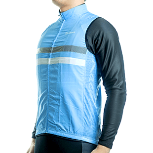 "Parc Jersey Mens ""Windstopper"" (Light Blue) Sleeveless Jersey"