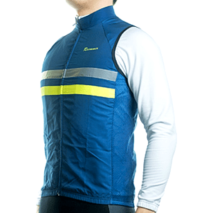 "Parc Jersey Mens ""Windstopper"" (Navy) Sleeveless Jersey"