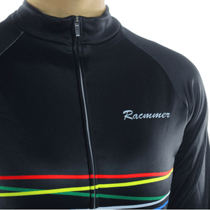 "Parc Jersey Racmmer Long Sleeve ""Black Rainbow"" Jersey"