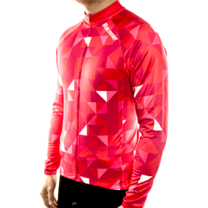 "Parc Jersey Racmmer Long Sleeve ""Cool Red"" Jersey"