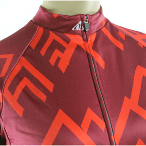 "Parc Jersey Racmmer Long Sleeve ""Peak Red"" Jersey"