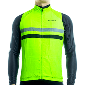 "Parc Jersey S Mens ""Windstopper"" (Green) Sleeveless Jersey"