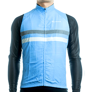"Parc Jersey S Mens ""Windstopper"" (Light Blue) Sleeveless Jersey"