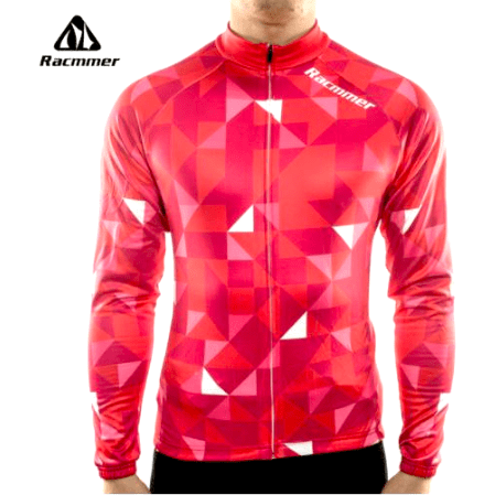 "Parc Jersey S Racmmer Long Sleeve ""Cool Red"" Jersey"