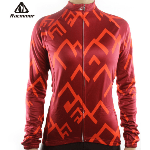 "Parc Jersey S Racmmer Long Sleeve ""Peak Red"" Jersey"