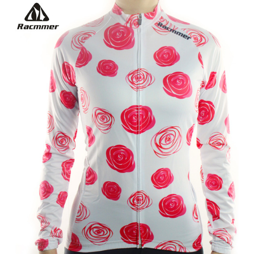 "Parc Jersey S Racmmer Long Sleeve ""Roses"" Jersey"