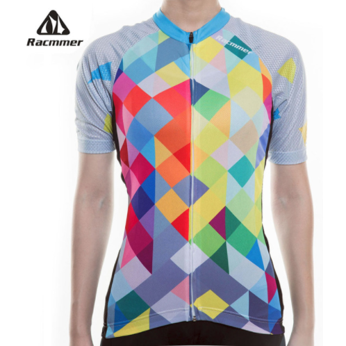 "Parc Jersey S Womens ""Colorful Rhombus"" Jersey"