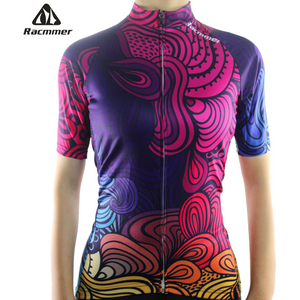 "Parc Jersey S Womens ""Colorful Swirls"" Jersey"