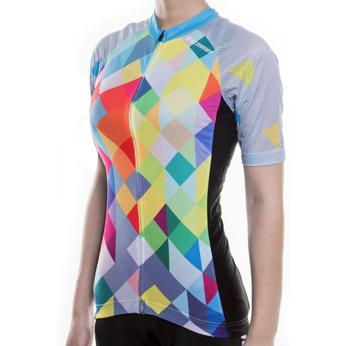 "Parc Jersey Womens ""Colorful Rhombus"" Jersey"