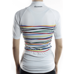 "Parc Jersey Womens ""White Rainbow"" Jersey"