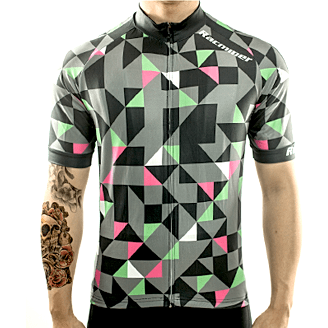 "Mens Short Sleeve ""Mix Trifecta"" Jersey"