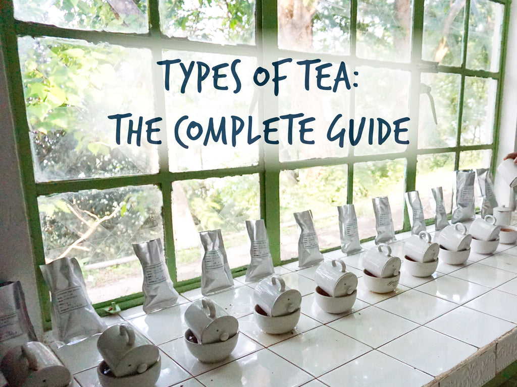 The complete guide to the different types of tea