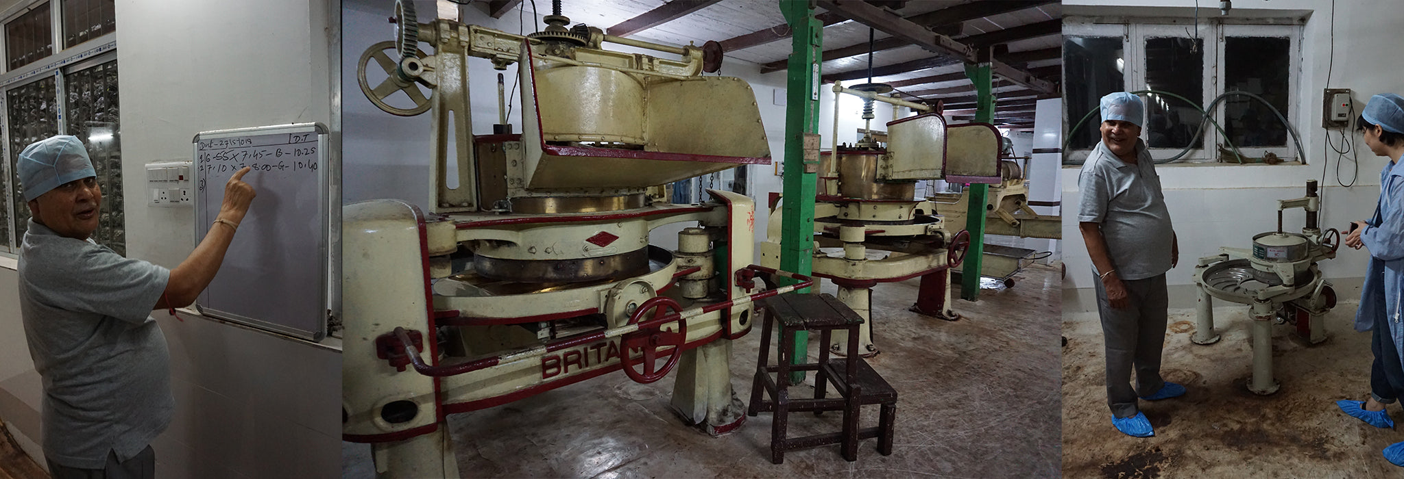 Rolling machines at Giddapahar