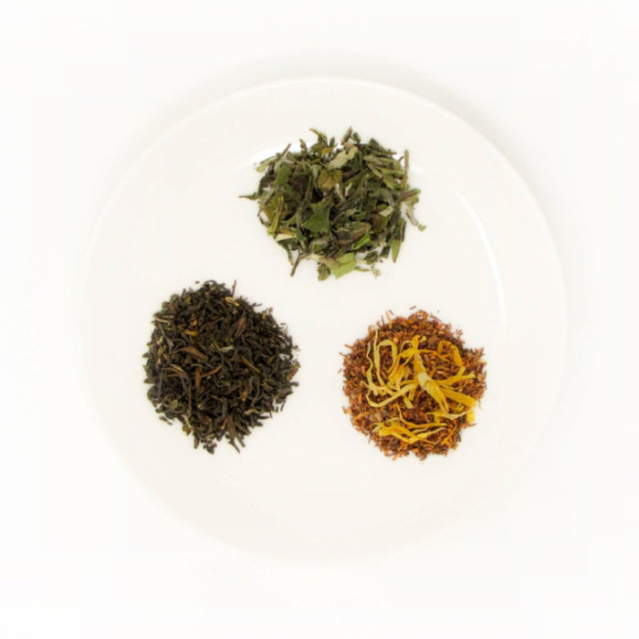 3 fine loose-leaf teas