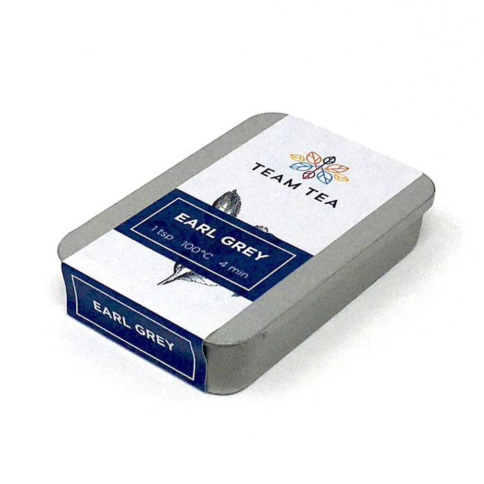 Earl Grey Tea slide tin