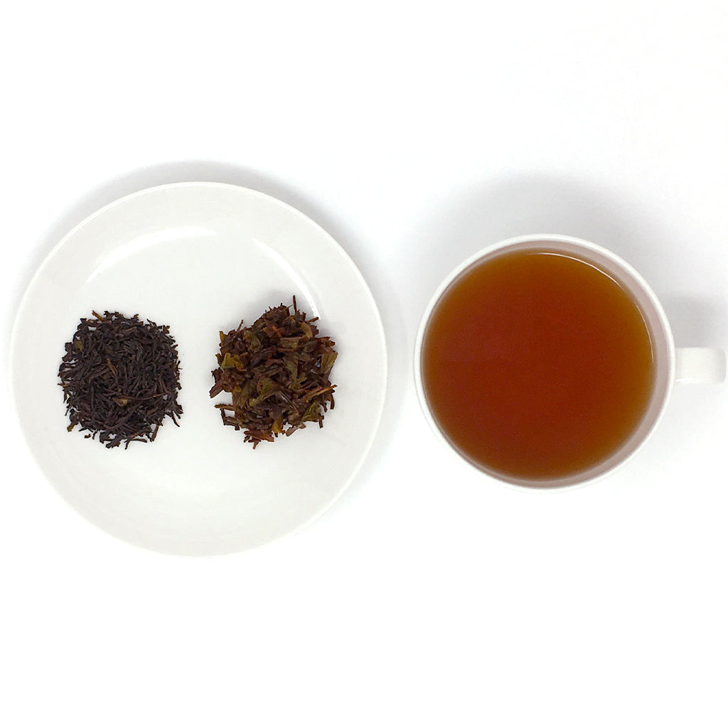 Lover's Leap Ceylon cup & leaves
