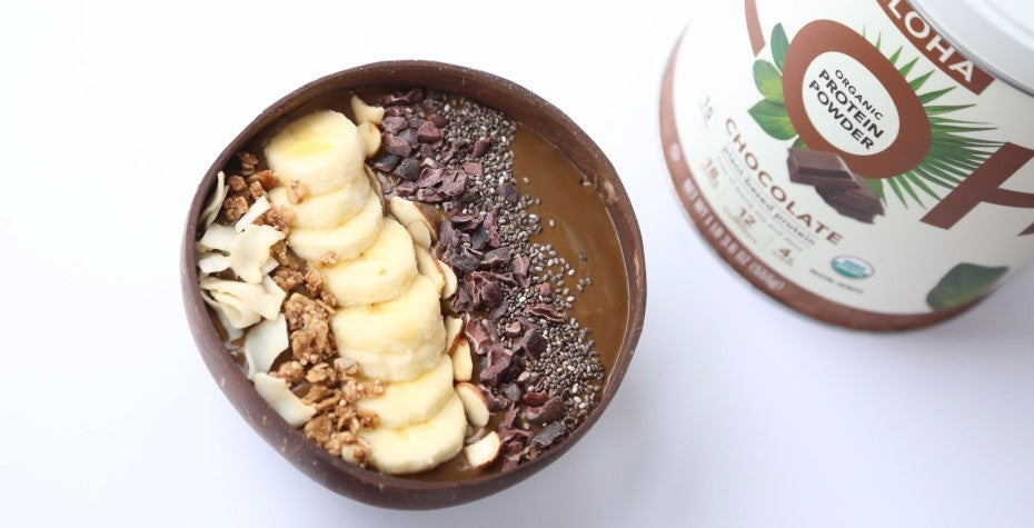 Chocolate Protein Smoothie Bowl