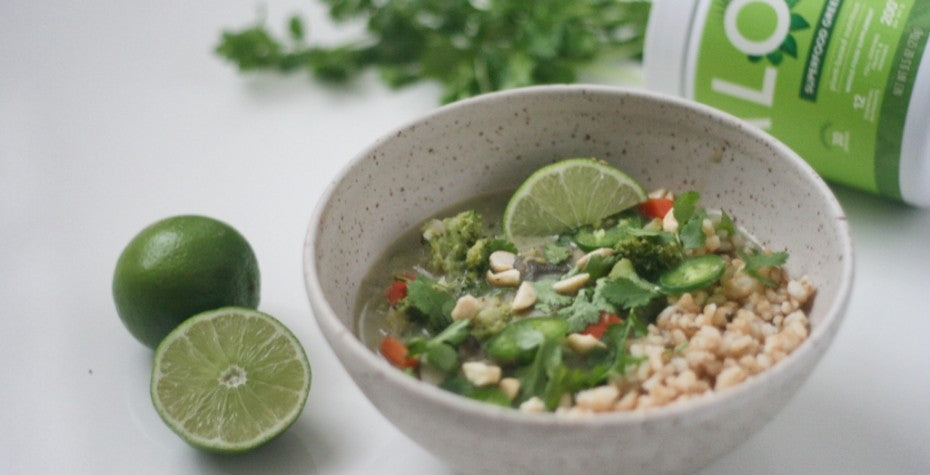 Superfood Green and Vegetable Curry