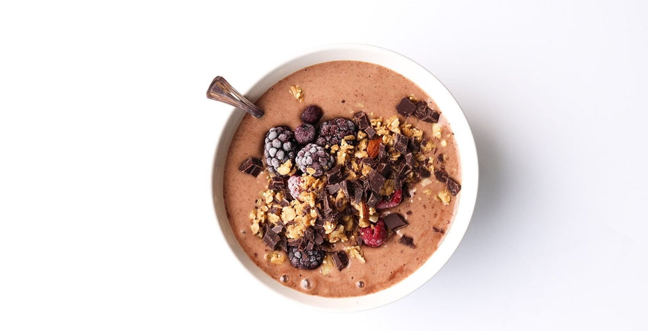 Creamy Chocolate Smoothie Bowl