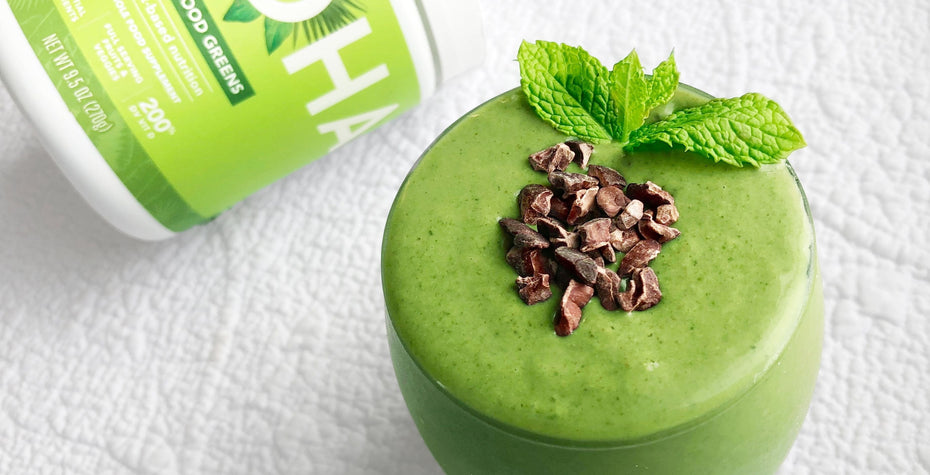 Mint Chip Superfood Smoothie