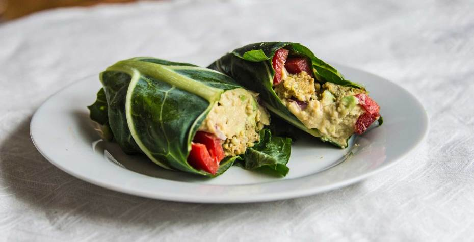 How to Make a Collard Wrap