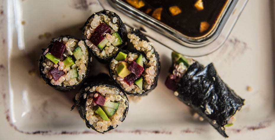 Vegan Superfood Sushi