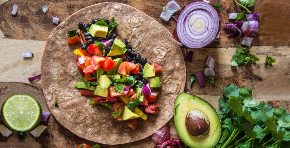 Easy Superfood Burrito + Healthy Cinco de Mayo Swaps