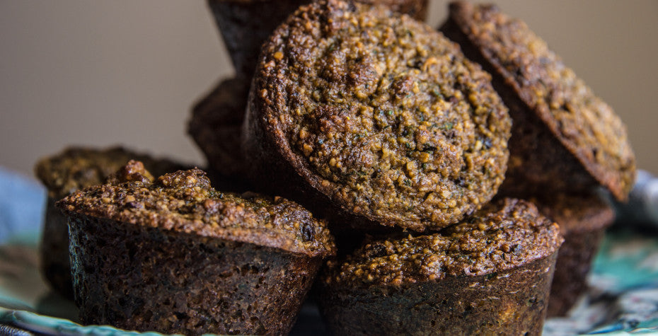 Oil-Free Chocolate Chip Zucchini Muffins