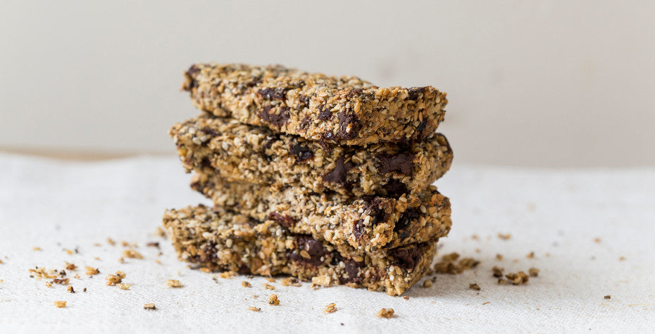 Gluten-Free Chocolate Cherry Seed Bars