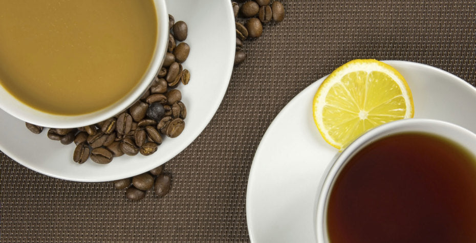 Black Tea vs. Coffee - A Guide to Caffeine