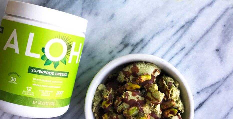 Pistachio Superfood Ice Cream