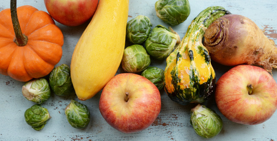 Top Five Superfoods for Fall