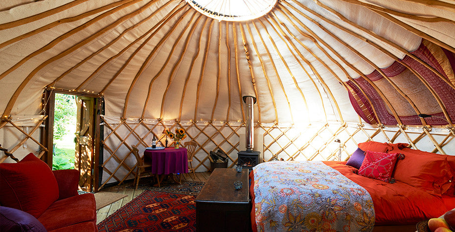 Extend Your Summer at Our Favorite Glamping Spots