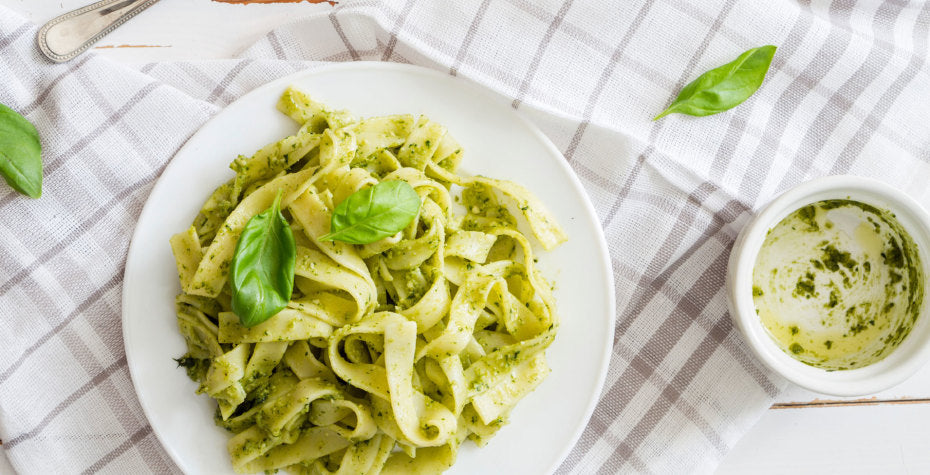Superfood Walnut Pesto Pasta