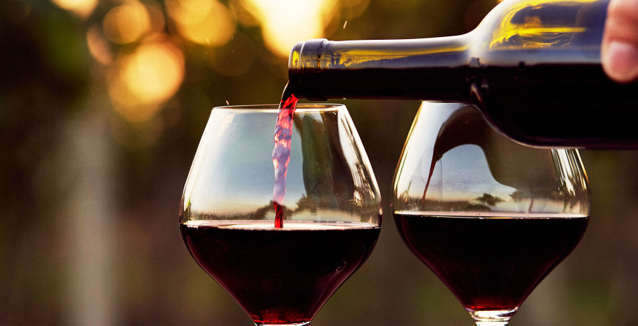 Bottoms Up - Top 5 Health Benefits of Drinking Red Wine