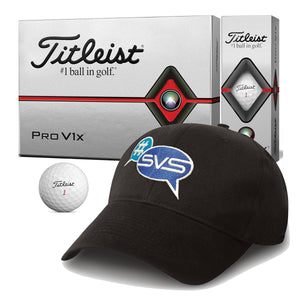 Titleist Pro V1 Golf Balls with FREE Caps