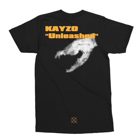 Kayzo Unleashed Tee / Black