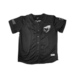 Kayzo Unleashed Baseball Jersey Black/Black